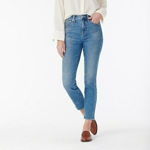 J.Crew High Rise Vintage Straight Jeans Size 27